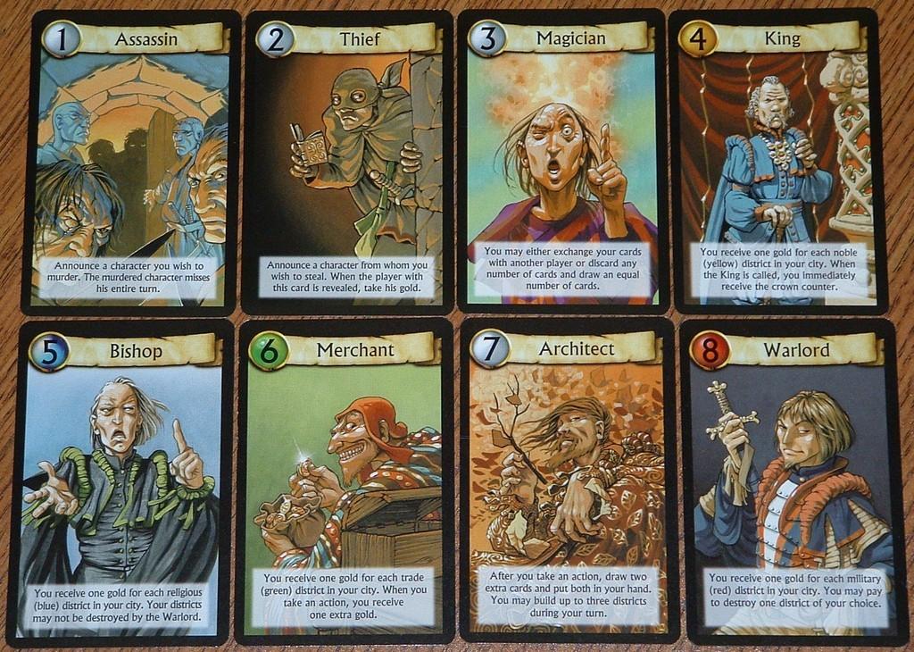 Citadel cards
