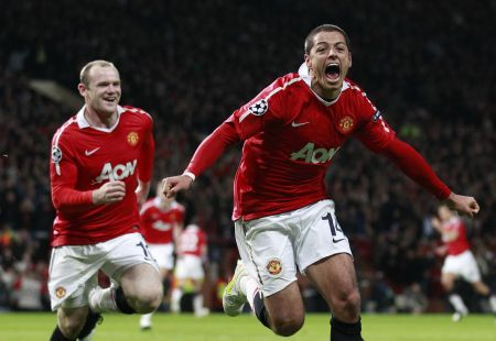 Chicharito has outscored Wayne Rooney in the EPL this season, and he cost about 20 million pounds less.