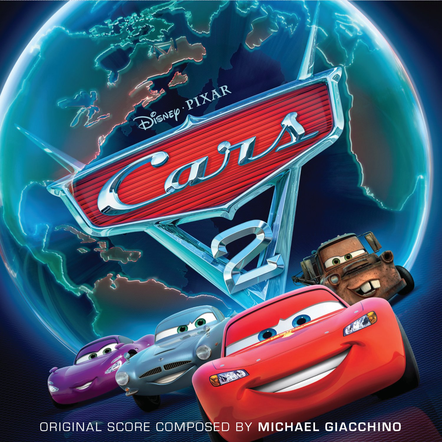 Disney Pixar Cars  Dvd