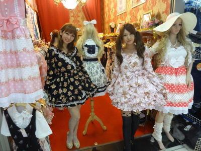 Tsubasa Maeda (left) and her younger sister Mamu at Chu Chu, a boutique they operate in Bangkok.