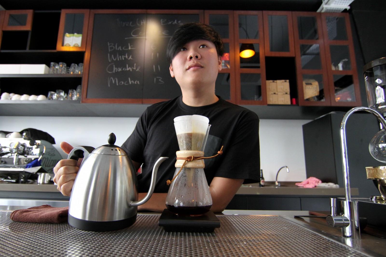 Coffee, Three Little Birds, Joey Mah, Chong Ee, Filter,