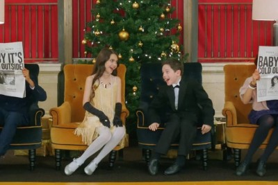 Baby It's Cold Outside, Michael Buble, Idina Menzel, Christmas, 2014