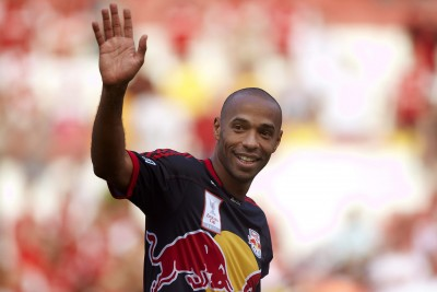 Thierry Henry Retirement Arsenal Red Bull Barcelona Football
