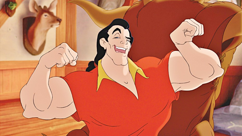 Just this time, Gaston!