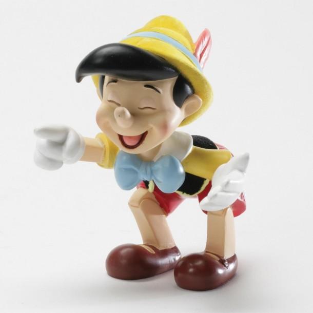 Disney's Pinocchio having a good laugh.