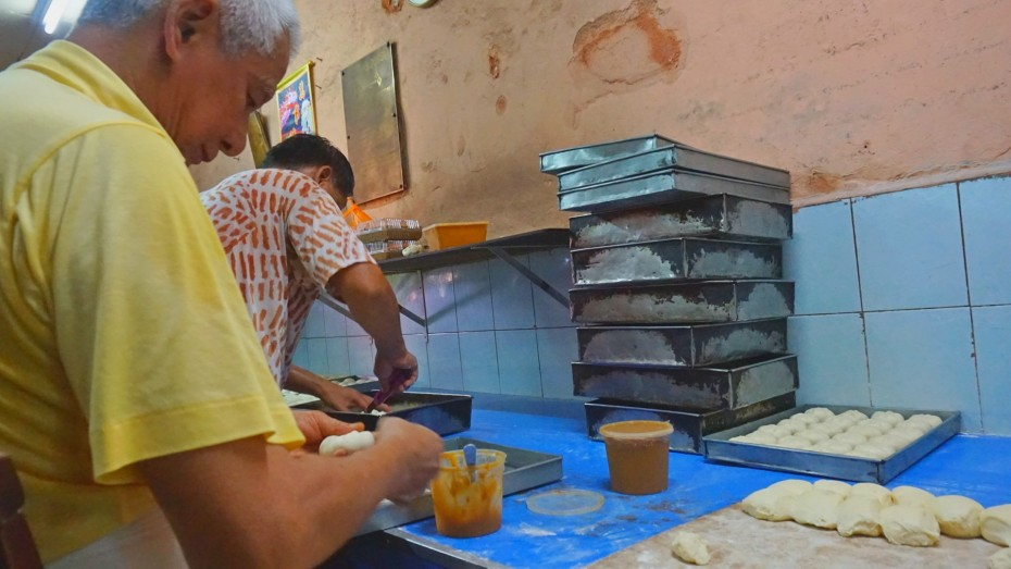 The bakery, founded by Lim's grandfather in 1919, is still staffed by family members.