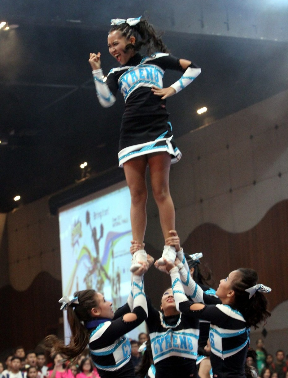 The Cyrens cheering their way to an incredible sixth consecutive CHEER All-Girls category title.