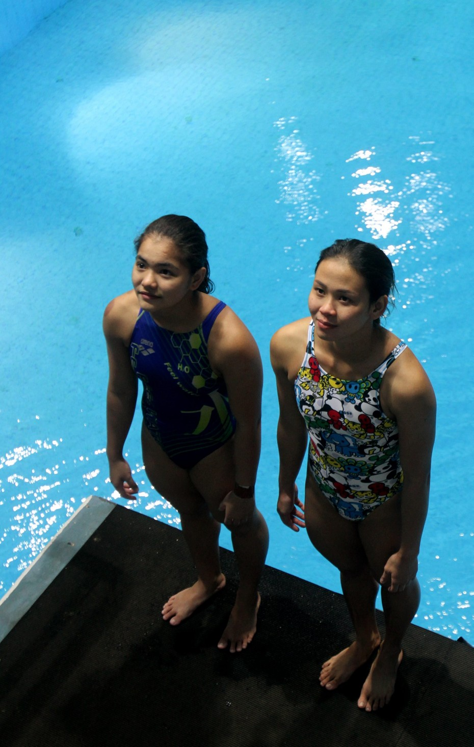 National divers Nur Dhabitah Sabri and Pandelela Rinong have their sights set high for the 2016 Rio Olympics. ―Photo: M. Azhar Arif/The Star