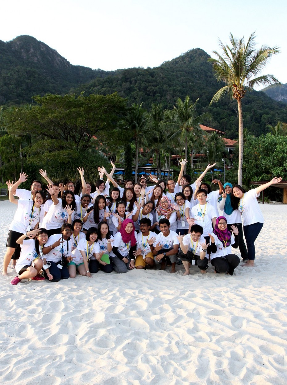 Last year's BRATs got to experience the natural beauty of Langkawi. They were on the gorgeous powdery sand, by the Andaman Sea! -- SAMUEL ONG / THE STAR, 12TH DECEMBER 2014