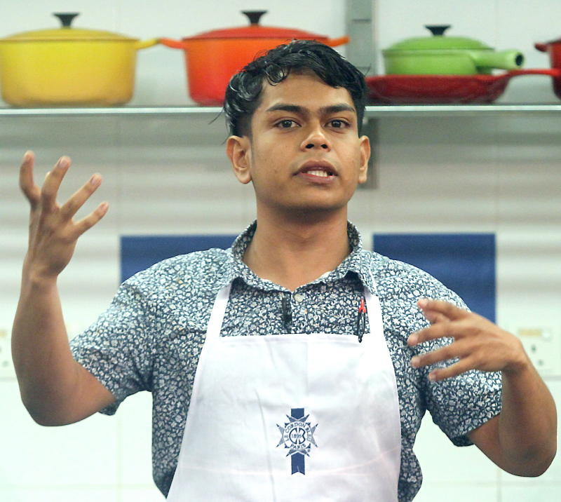 Nuril's in-depth knowledge of local ingredients and cuisine impressed the judges and saw him crowned Food Fight champion.