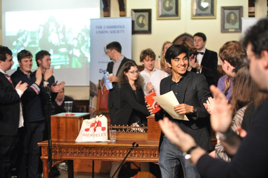 Saddiq received his third English as Second Language (ESL) Best Debater Award at the Cambridge Intervarsity 2014 debating competition, and was appointed co-chief adjudicator this year. ― Photos: Syed Saddiq