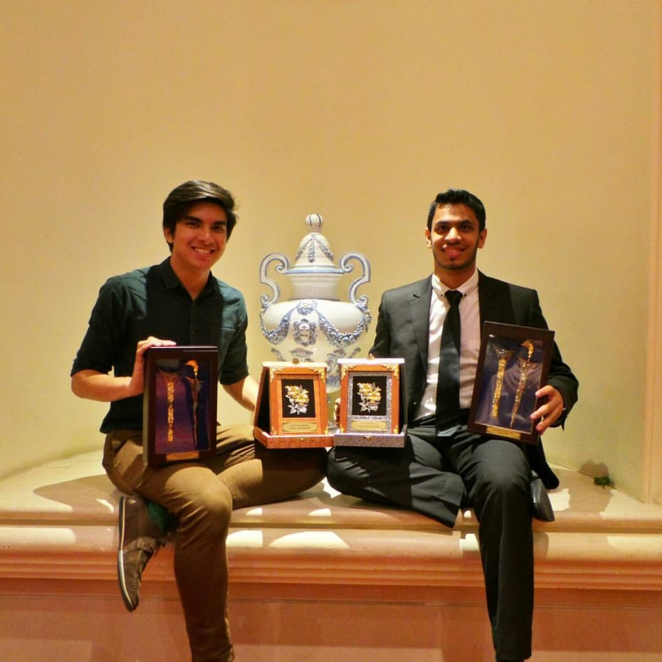 Saddiq tied for his third Asia's Best Debater Award at the Asian British Parliamentary Debating (ABP) Championship with IIUM team member Mubarrat Wassey.