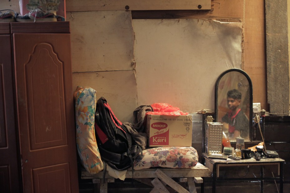 The bedroom of Mariyammah's youngest son, Kanages. Expelled from school without warning, he is now doing odd jobs at construction sites. He hopes to be allowed back to school when the new school term begins in January. ― Photo by: ELROI YEE/The Star