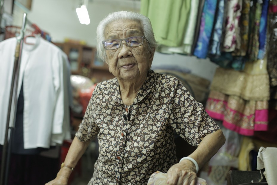 From the temple where she sought refuge during the Japanese attack in Singapore to the laundry shop where she hid young girls from the soldiers, World War II survivor Yap Chwee Lan brought the R.AGE crew around Johor for The Last Survivors shoot. -- HAFRIZ IQBAL/R.AGE