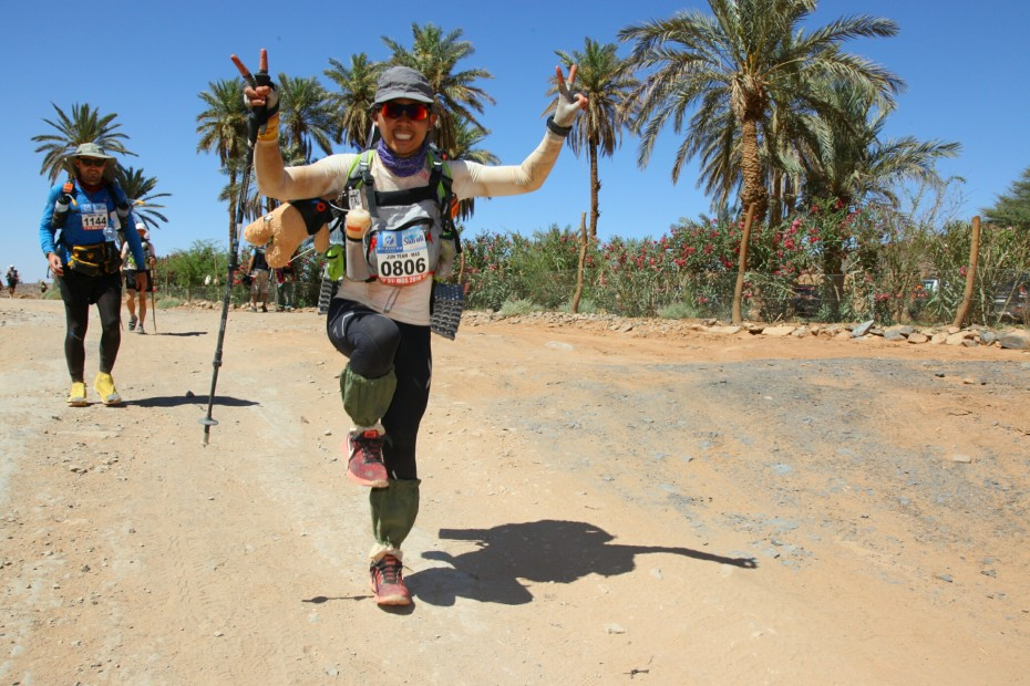 Lau has been training for the ultramarathon since December, running 70km twice every week. — Photos: Handouts