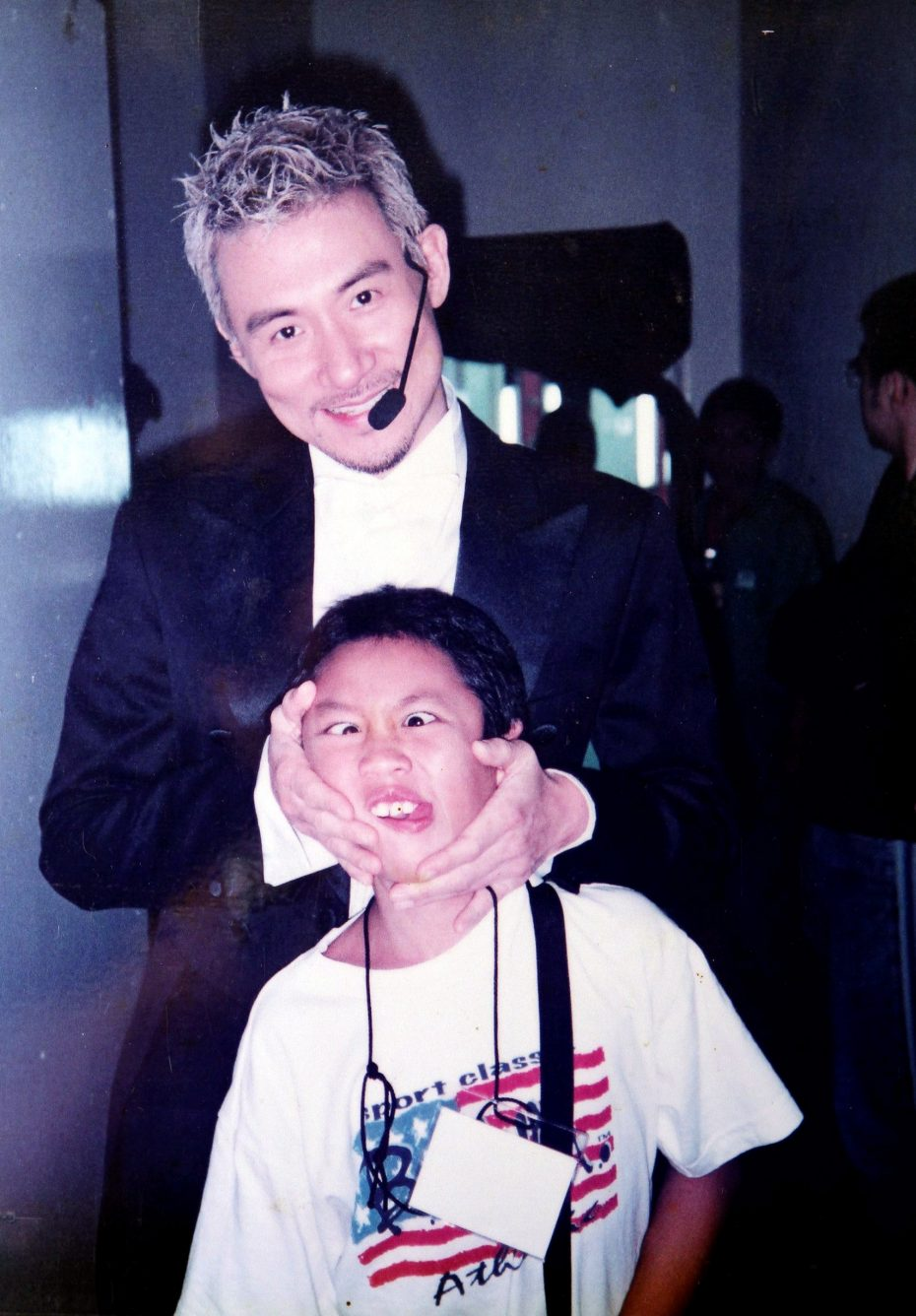Cheung invited an 11-year-old Kam on stage at a concert in Malaysia to play the percussions. He had learnt about Kam's talent through Kam's sister, Genervie. — Handout