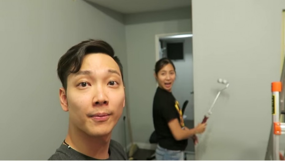 Jeremy made a vlog about his house-painting experience! Watch it on youtube.com/jeresays