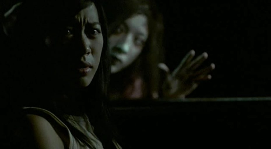 A scene from Shutter, the Thai horror film which Chatametikool edited.
