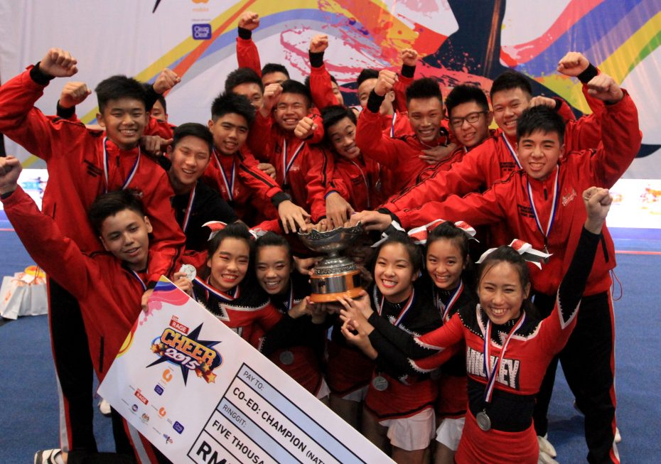 Last year's Co-Ed champions Mickeymitez won't be competing at CHEER 2016. So, which Co-Ed team will take the title? — SAM THAM/The Star