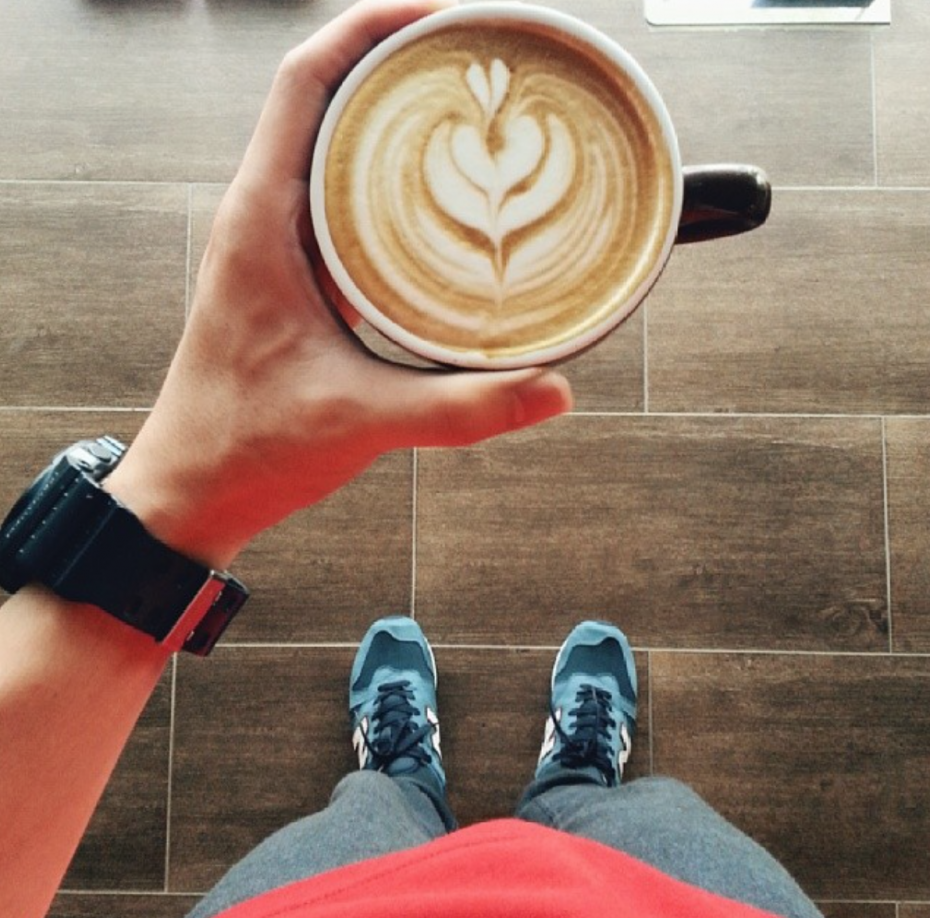 Barista Koay began his journey into the world of coffee by experimenting with latte art. — Photo: Keith Koay