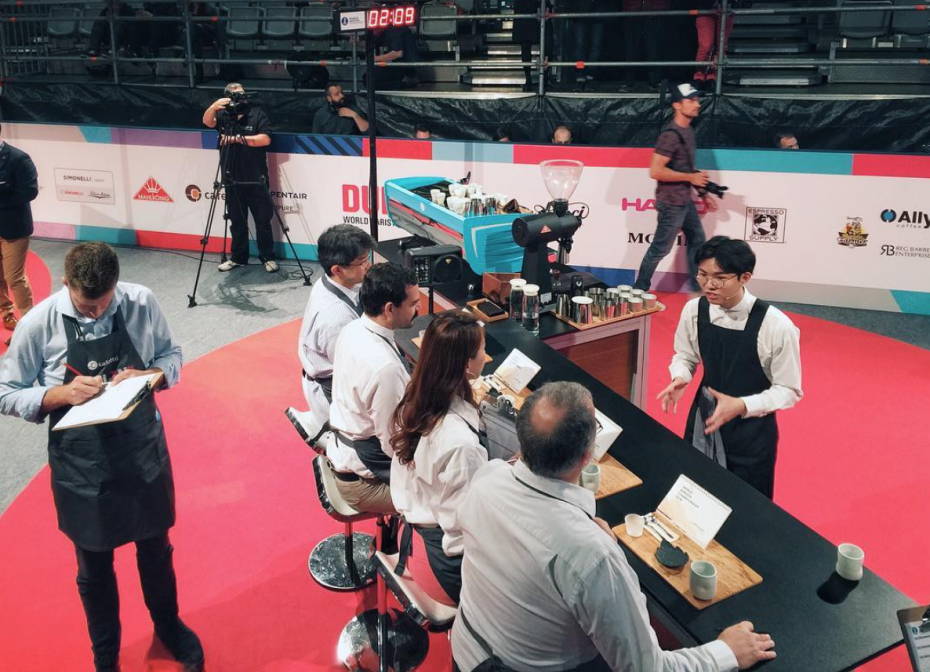Having won the Malaysian Barista Championship, Koay qualified as the Malaysian representative at the World Barista Championship 2016, held in Dublin. -- Photo: JOJO TAN