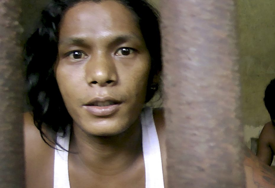The Seafood From Slaves report used digital technology to expose the slavery of Burmese people in the South-East Asian fishing industry. (AP Photo/APTN)
