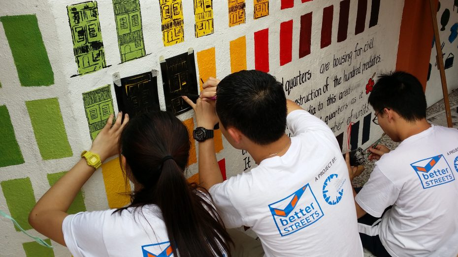 SMK La Salle Brickfield's was given a new lease of life through the BetterStreets urban regeneration program, a Global Shapers KL initiative. - Photo: GLOBAL SHAPERS KL