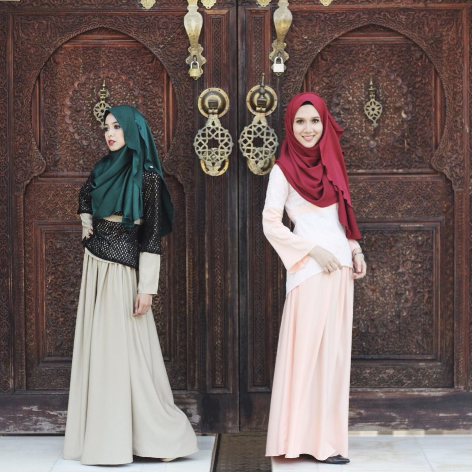 Clothes from Athirah's Tiazman fashion line, which she founded when she was still an Islamic finance student.