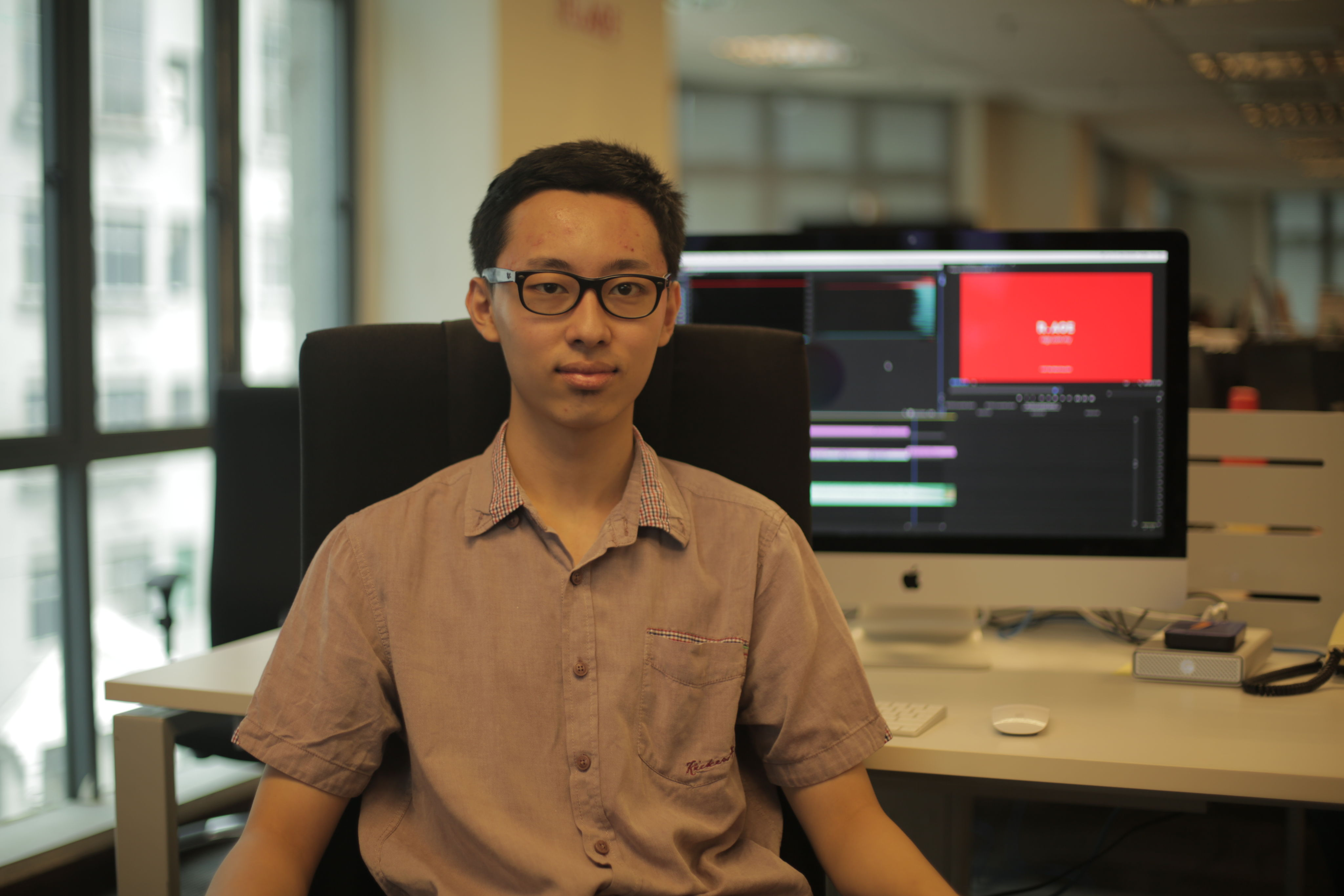 Former BRATs participant Chen is now an Assistant Produce at R.AGE - Photo: SHANJEEV REDDY/R.AGE