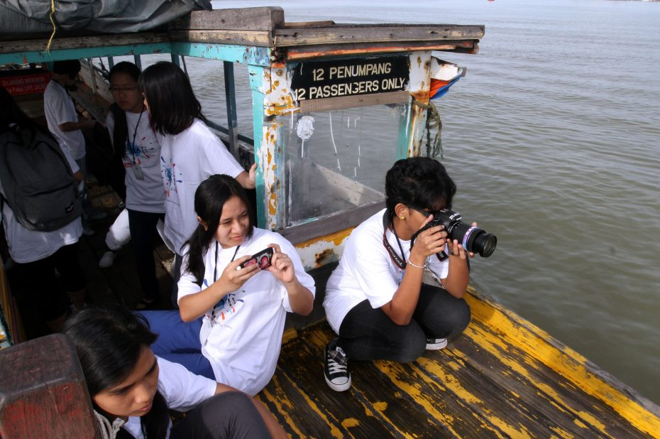 BRATs participants take their own photos while out on assignments, giving them a chance to develop their photographic instincts. — SAM THAM/The Star