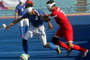 Malaysia's blind footballers down but not out